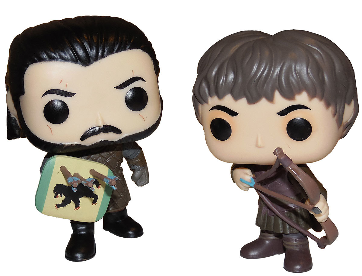 funko pop game of thrones battle of the bastards jon snow ramsay bolton mint ebay. Black Bedroom Furniture Sets. Home Design Ideas