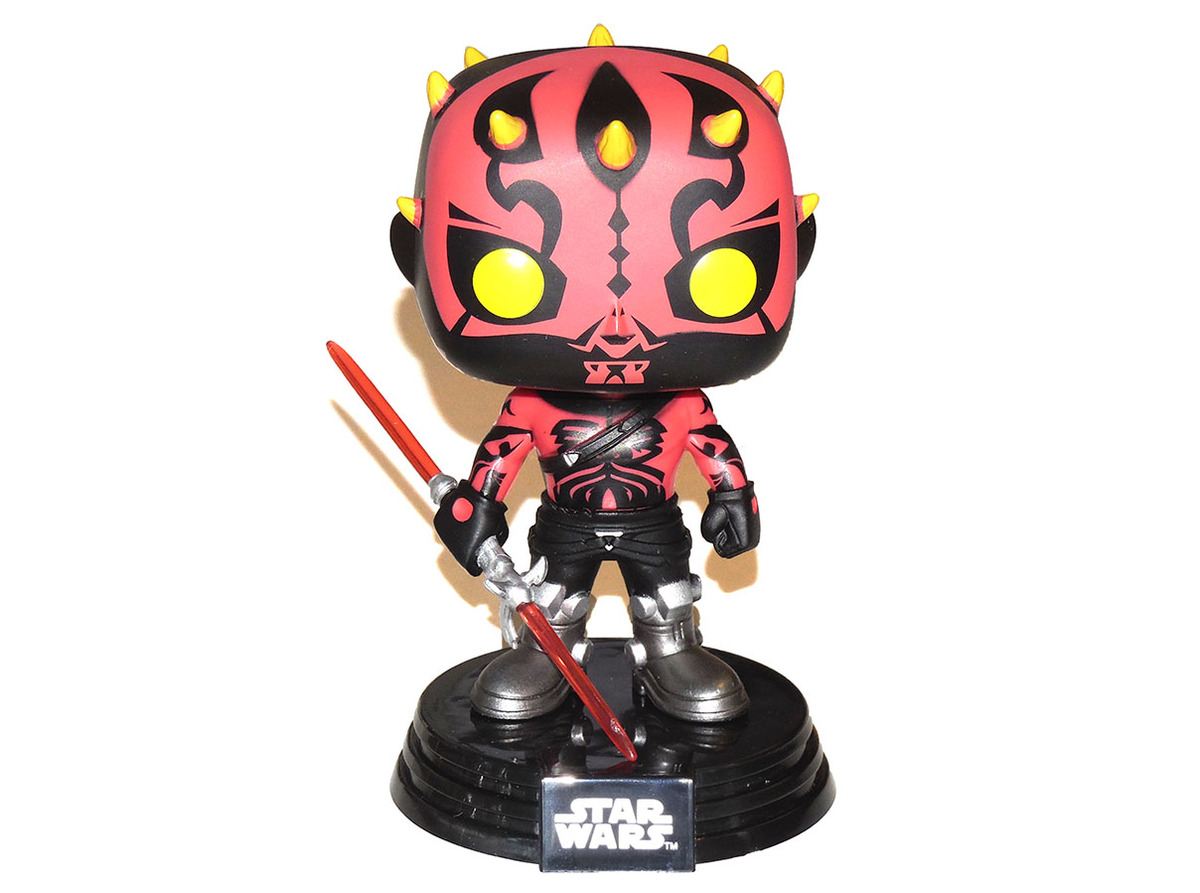 Funko Pop Star Wars Rebels Darth Maul Variant 165