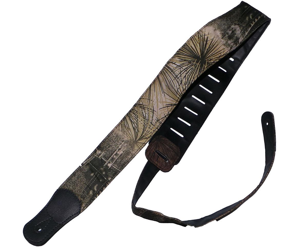 guitar strap pu leather tropical denim unbranded. Black Bedroom Furniture Sets. Home Design Ideas