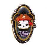 Disney Treasures Souvenir Pin Badge Pirates Cove Mickey Mouse Mint Condition