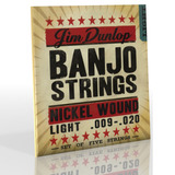 Dunlop 5 String Premium Set For Banjo