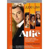 Alfie (DVD, 2006, Reg 4 Australia) AS NEW Jude Law Marisa Tomei Susan Sarandon