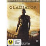 Gladiator Deluxe Collector's Edition (DVD, 2000, R4 Australia) Excellent Condition