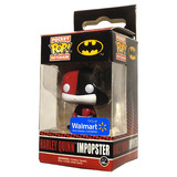 FUNKO POCKET POP! Keyring Harley Quinn Impopster DC Walmart EXCLUSIVE Mint