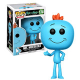 Funko POP! Rick And Morty Mr Meeseeks #174 New Mint 2017 Release