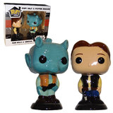 Funko POP! Ceramic Salt Pepper Shakers Han Solo & Greedo Star Wars Smugglers Bounty EXCLUSIVE New Mint