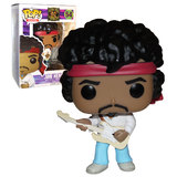 Funko POP! Rocks #54  Jimi Hendrix (Woodstock) White Guitar New Mint