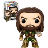 Funko POP! SDCC Comic-Con Exclusive DC Justice League #199 Aquaman And Motherbox New Mint