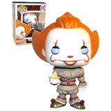 Funko POP! Horror #472 'It' 2017 Pennywise (With Boat) - 2nd Release (Blue Eyes) - New, Mint Condition