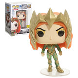Funko POP! Heroes DC Justice League #213 Mera - Stickered Hot Topic Exclusive - New, Mint Condition