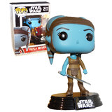 Funko POP! Star Wars #217 Aayla Secura - Smugglers Bounty Exclusive - New, Mint Condition