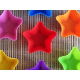 7 x Mini Star Shaped Muffin Moulds