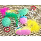 Cat Toys - Variety Pack of 4