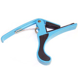 Blue Trigger Capo for Acoustic Electric Classical Guitar Round Style