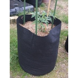 Fabric Grow Pots Planter Bags - Smart Plant Root Aeration Container - Black - Various Sizes