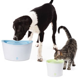 CatIt and DogIt Pet Waterfall Drinking Fountain for Cats and Dogs