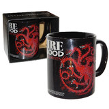 Game Of Thrones Fire And Blood Targaryen Sigil Coffee Mug New In Package Licensed