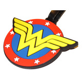 Wonder Woman Collectible Luggage Bag Tag High Quality - New Mint Condition