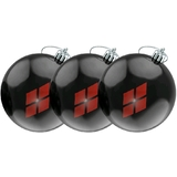 DC Comics Harley Quinn Christmas Bauble Ornaments (Set Of 3) - New, Mint Condition