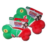 KONG Holiday Range - Off/On Squeaker Bone in Three Sizes