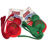 KONG Holiday Wubba For Dogs in Two Christmas Colours - Large