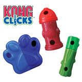 KONG Clicks - Puzzle Toy For Dogs With Difficulty Levels in Three Design Shapes