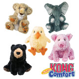 KONG Comfort Kiddos For Dogs in Two Sizes and Five Designs With Removable Squeaker!