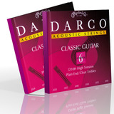 Martin Darco Classical Guitar Strings Plain End (2 Sets)
