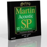 Martin Acoustic 12 Strings Extra Light MSP4600