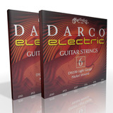 Twin Pack - Martin Darco Electric Strings Light .010 to .046 D9200