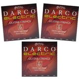 Triple Pack - Martin Darco Electric Strings Light .010 to .046 D9200