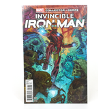 Marvel Collector Corps Invincible Ironman Comic #1 (Variant Edition) Mint Condition