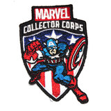 Marvel Collector Corps First Appearance Avengers Souvenir Patch Captain America New Mint Condition