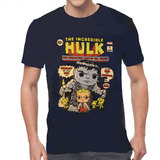 Funko Pop Tees - Marvel Collector Corps 1st Appearance Avengers Hulk T-Shirt New