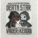 Funko POP! Star Wars Death Star Vader vs Kenobi T-Shirt New In Package