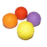 Petzplus Small Rubber Squeaky Puppy Ball - Two Pack or Four Pack