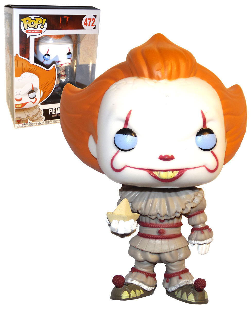 Funko Pop Movies It 2017 472 Pennywise With Boat