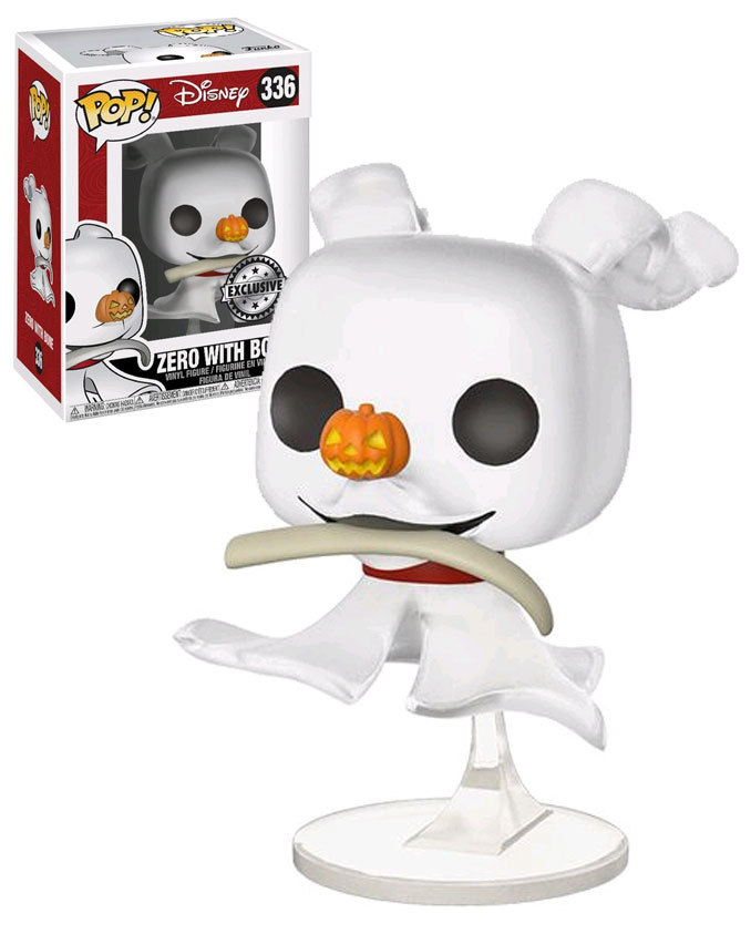 4bb3ec62732 Funko POP! Disney The Nightmare Before Christmas  336 Zero With Bone -  New