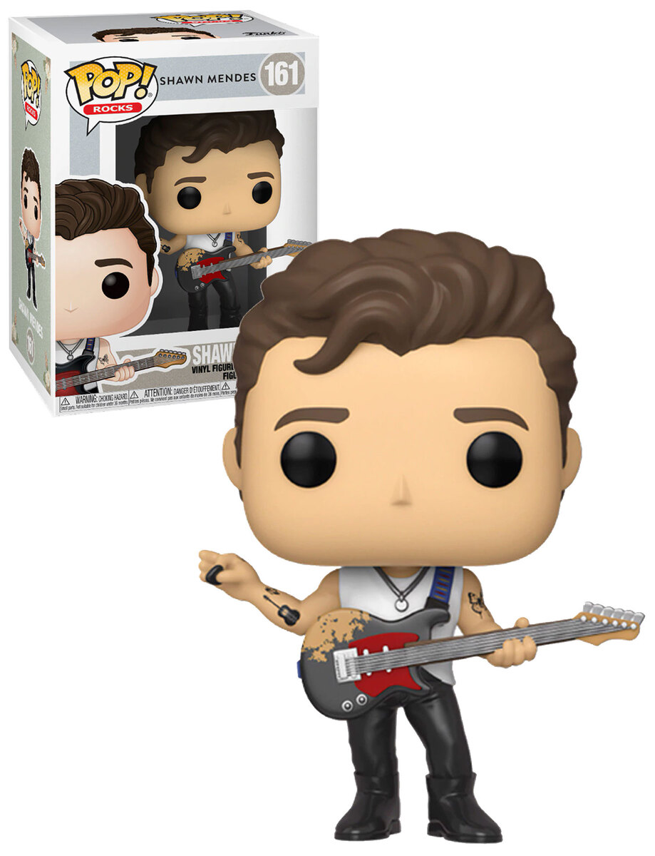 In Hand! MINT shawn mendes funko pop With Protector