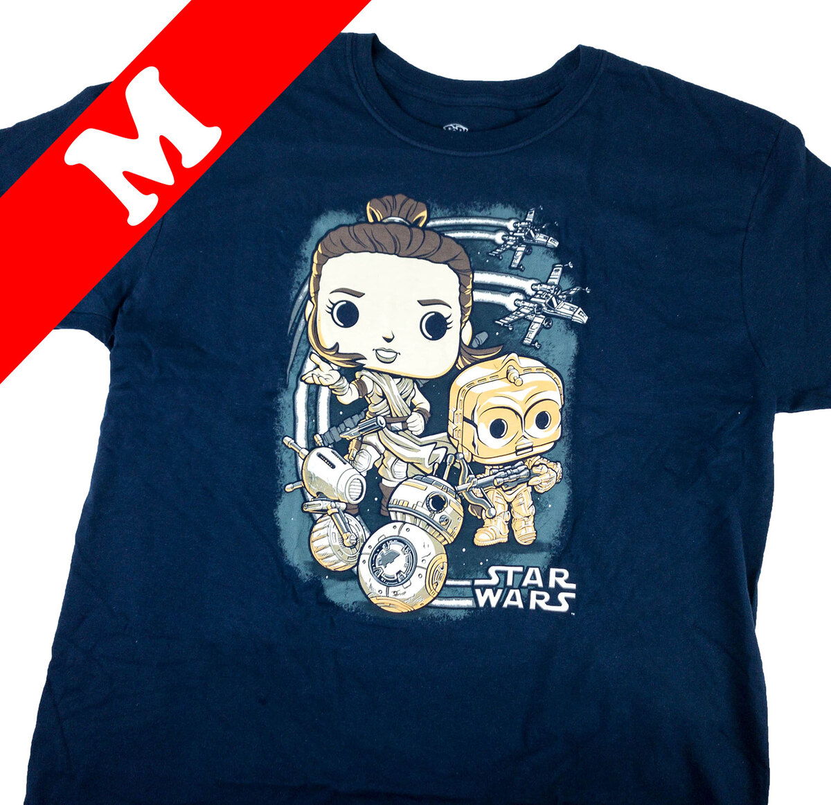 Funko Star Wars Smuggler/'s Bounty Droids Shirt Size Xl Complete Box