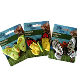 All For Paws Premium Cat Toy - Butterflies Pack of Two