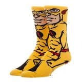 Bioworld DC Character Collection Crew Socks - Reverse Flash - Mens Size 10-12 - New