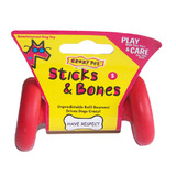 CrazyDog Sticks & Bones Rubber Toy - Small