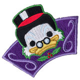 Disney Snowflake Mountain Scrooge McDuck Souvenir Patch - 2017 Disney Treasures Box Exclusive - New, Mint Condition