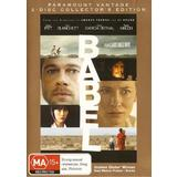 Babel (DVD, 2007, R4, 2 Disc Collectors Edition) As New Condition
