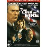 In The Line Of Fire (DVD, 2001, Collector's Edition, R4 Australia) As New