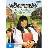 The Vicar of Dibley Immaculate Collection (DVD, 2008, 5 Discs) As New Condition