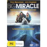 Big Miracle (DVD, 2012, 1 Disc) As New Condition