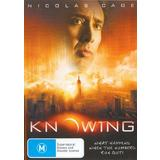 Knowing (DVD, 2009, 1 Disc) As New Condition