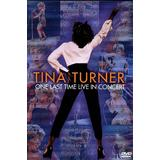 Tina Turner: One Last Time Live In Concert (DVD, 2001) Brand New